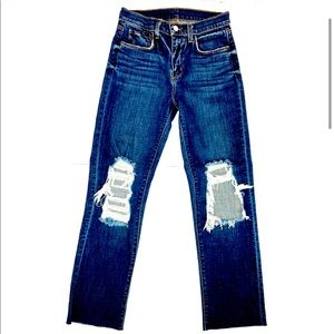 L'AGENCEAudrina High Rise Straight Jeans